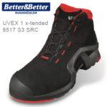 UVEX 1 x-tended védőbakancs 8517 S3 SRC