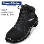UVEX motion light munkavédelmi bokacipő