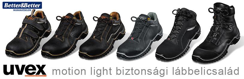 uvex motion light munkavédelmi cipő termékcsalád bemutatása