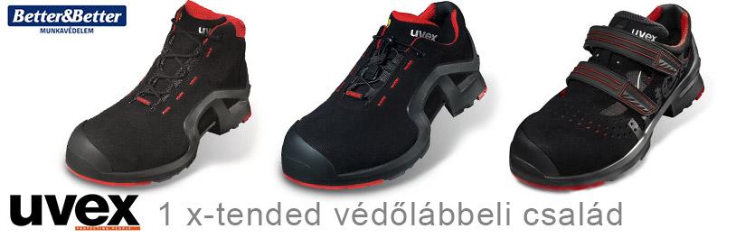 uvex 1 védőcipők