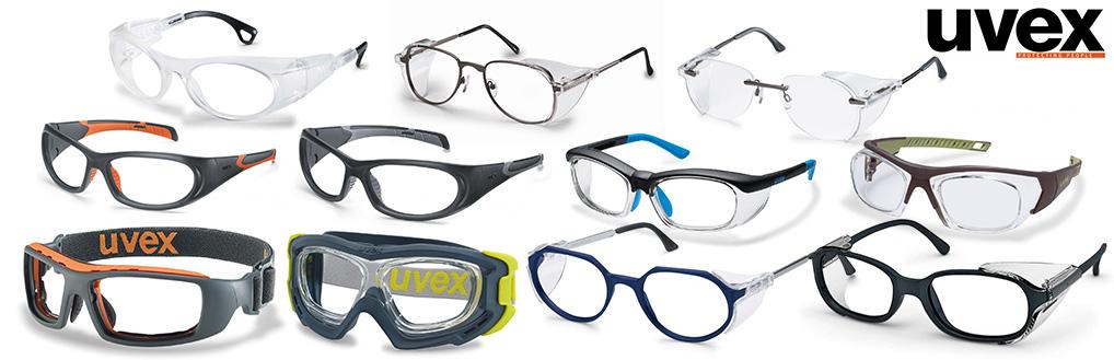 munkavédelmi uvex dioptriás szemüvegek