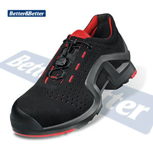uvex 8519-piros munkavédelmi cipő - lábbeli