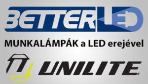 LED munkalámpa, fejlámpa, kerresőlámpa, unilite, szikramentes, RB , ATEX lámpák