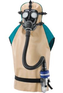 Spasciani légző eszköz homokfújáshoz, festékszóráshoz