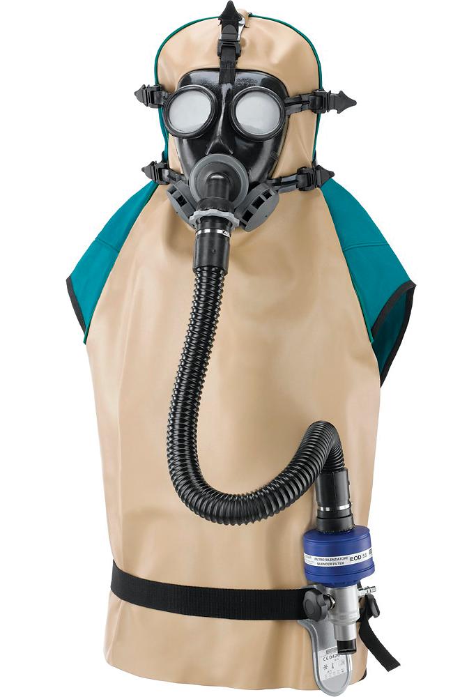 Spasciani ACS951 sűrített levegős légző eszköz homokfújáshoz, festékszóráshoz