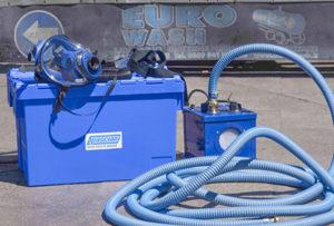 Aktív ventillátorral akár 60 méter csővel is használható. Aktív ventillátor nélkül maximum 10 méter csővel.