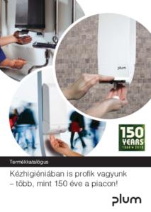 Plum kézhigiénia termékkatalógus