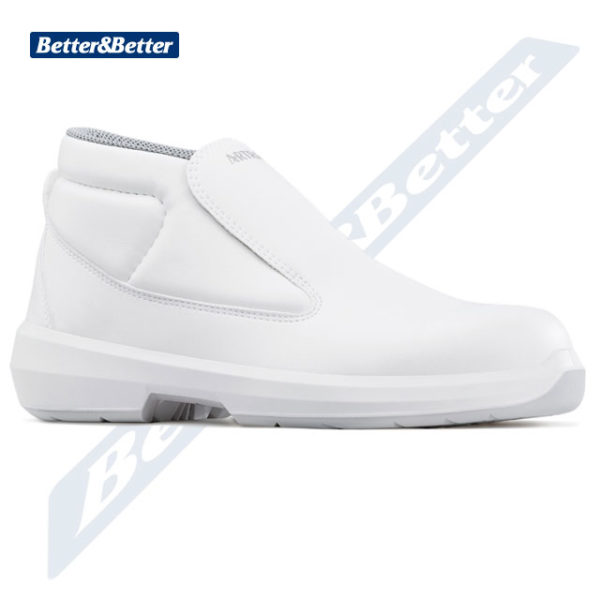 Artra cipő munkavédelmi bokacipő egészségügyi dolgozóknak, élelmiszeripari dolgozóknak, szakács, cukrász, orvos, nővér cipő