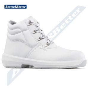 egészségügyi és élelmiszeripari munkákhoz használható ARTRA munkavédelmi fehér védő bokacipő