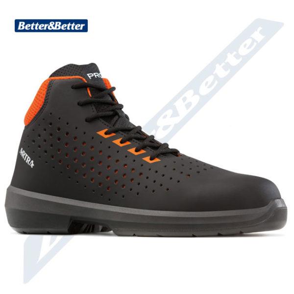 Artra cipő munkavédelmi bakancs csúszásmentes talp, vízálló, kevlár talplemez és kompozit orrmerevítő