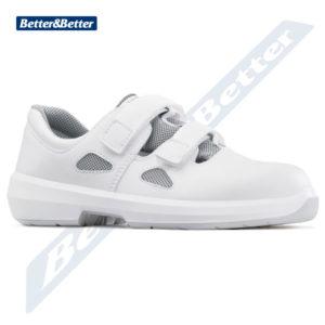 Artra cipő munkavédelmi szandál egészségügyi dolgozóknak, élelmiszeripari dolgozóknak, szakács, cukrász, orvos, nővér cipő