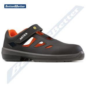 Artra cipő ESD környezetben használható Artra védőszandál, kényelmes, jól szellőző