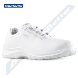fehér munkavédelmi cipő egészségügyben, élelmiszeriparban, BGR191
