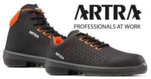 Artra cipő munkavédelmi lábbeli, magas minőségű munkacipő, UVEX minőség kedvező áron.
