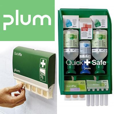 Plum egészségvédelmi termékek, sebtapasz, szemöblítő