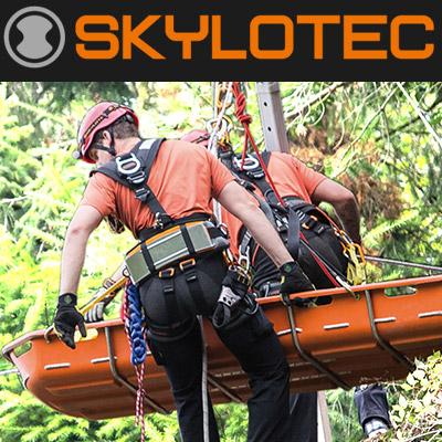 A német Skylotec alpintechnikai, zuhanásvédelmi eszközeinek forgalmazása, hevederek, kötelek, sisakok.
