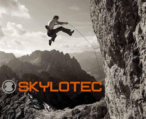 Skylotec zuhanásvédelem, alpintechnika, kötelek, hevederek, beülők, via ferrata eszközök