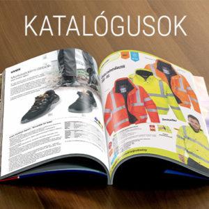 Munkaruházati munkavédelmi katalógusok letölthető, lapozható formában. Ganteline, Cerva, UVEX, Spasciani, Skylotec, Honeywell, M3, Dupont, Artra