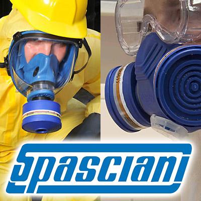 légzőkészülékek, egyéni légzésvédelem az olasz Spasciani gyárból