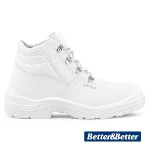 fehér munkavédelmi artra cipő élelmiszeripar, vendéglátás ARAUKAN 940 1010 O2 FO