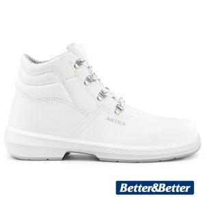 Fehér munka cipő bakancs Artra ARAUKAN 9408 1010 S2