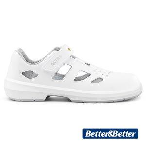 fehér munkavédelmi szandál Artra ARIO 801 1010 S1 ESD